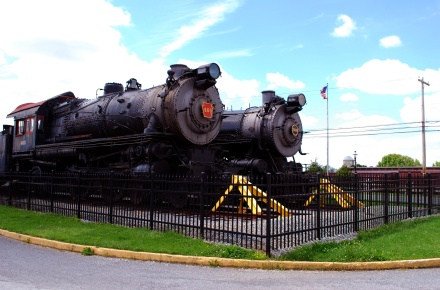 Old Trains from Strasburg, PA