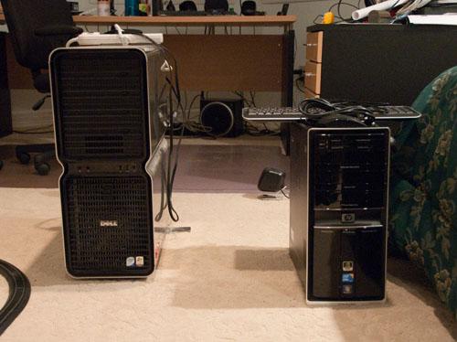 New PC vs old