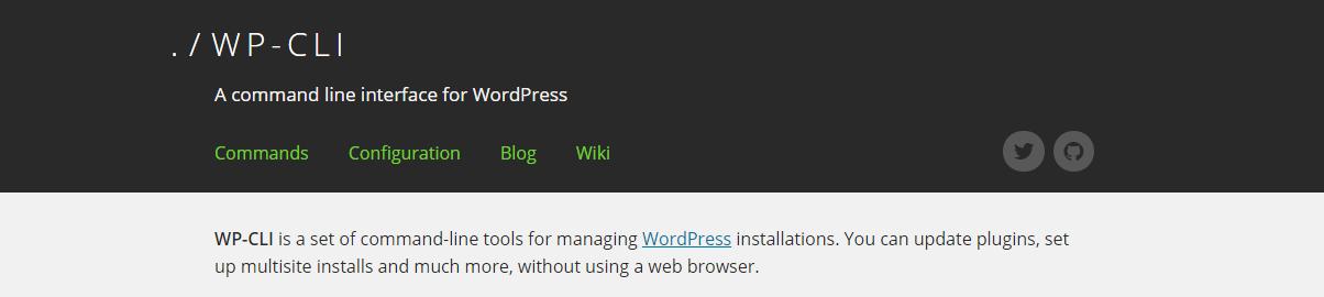 Server admins love WP-CLI