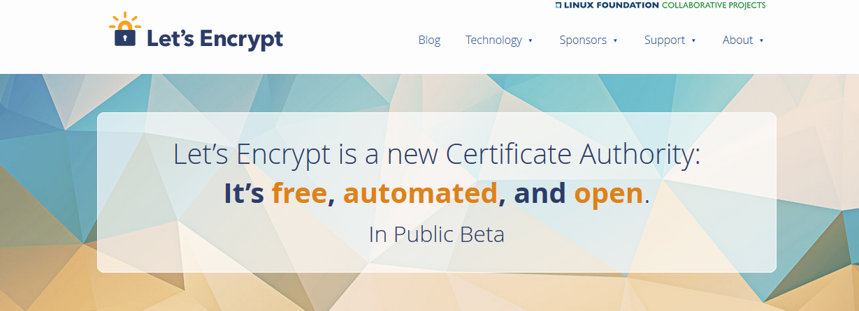 Let's Encrypt is all kinds of awesome