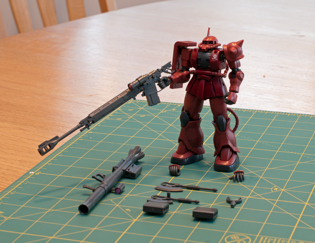 HG Char's Zaku II Origin Version