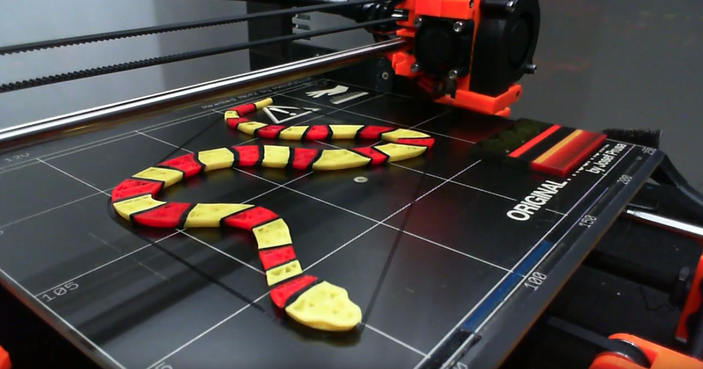 Time-lapse 3D printer videos